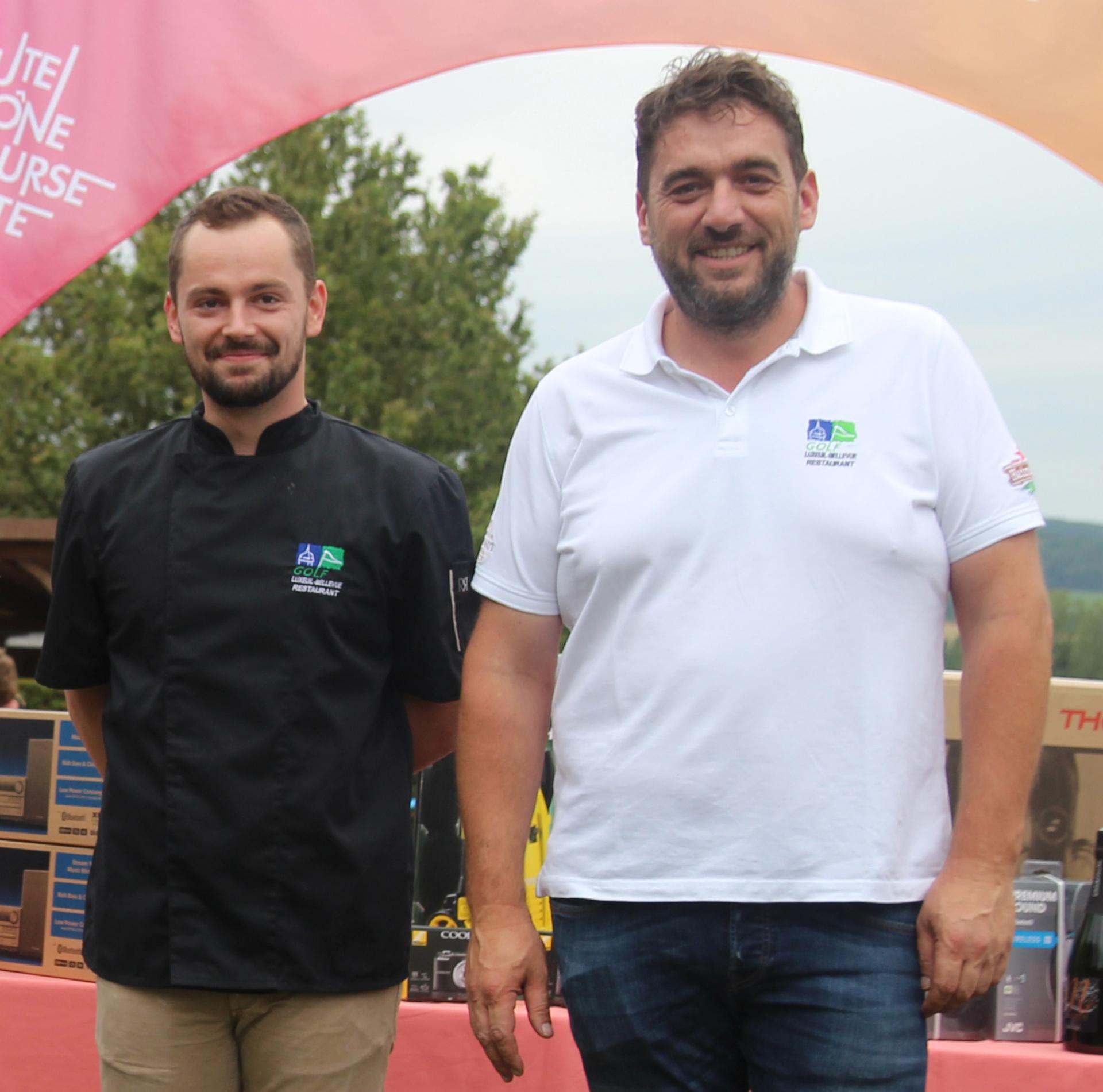 Kevin (cuisinier) & Christophe